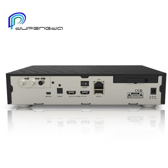 DUPENGDA 2017 Newest Model  DVB-S2/C/T2 Tuner dm 900 UHD 4K E2 Linux TV Receiver 2160p PVR Satellite Receiver Tv Box