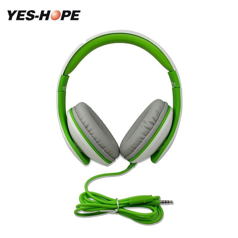 Да-надеюсь проводные наушники гарнитуры С микрофоном съемный кабель на ухо шлем Filaire AUXMusic для Ipod auriculares con кабель