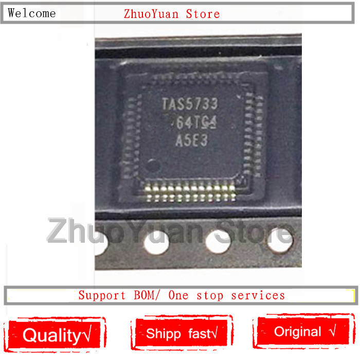 1PCS/lot TAS5733 Chip TAS5733PHPR TAS5733PHP IC Chip New Original