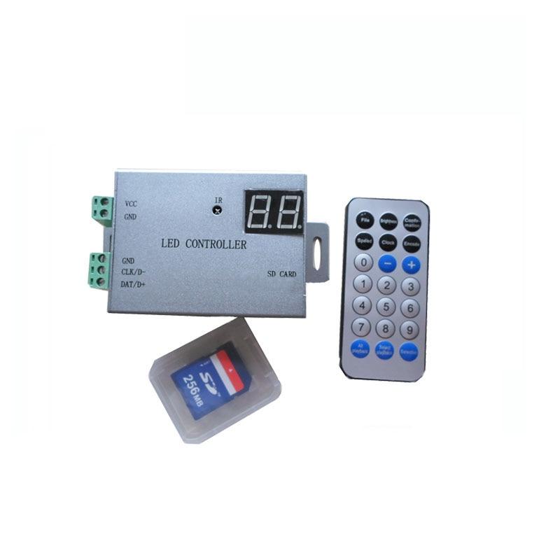 1X H805SB pixels led controller driver many type of dream color IC maximum 4096 pixels free shipping boss bb 1x bass driver