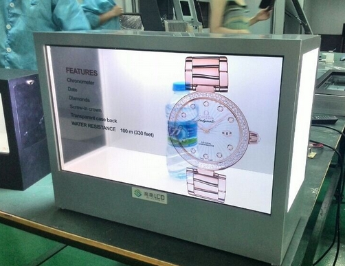 TFT HD HDMI LCD Touch Function Transparent Video Display,pc Installed In Transparent Lcd Display