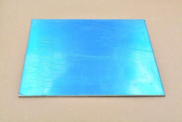 6061 plaque d'aluminium feuille d'aluminium 250mm x 250mm épaisseur 2mm 250x250x2 alliage bricolage 1 pièces
