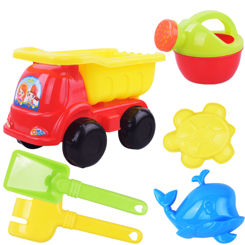 Kids Baby Beach Sand Toys Kids Children's Summer Toys Brinquedos Car Model Sprinkler Shower Shovel Tools Classical Play Toys
