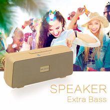 Itek New Mini Portable Wireless Bluetooth Speaker Music Player Subwoofer Dual Loudspeaker Speakers Support AUX TF Card FM Radio