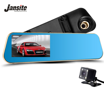 Buy Newest Car Camera Car Dvr Blue Review Mirror Digital Video Recorder Auto Registrator Camcorder Full HD 1080P Camera Car Dvrs