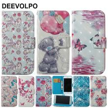 DEEVOLPO For Fundas Apple iphone XS Wallet Case Leather X 7 8 6 6s Plus 5 5S SE Flip Phone Cover Bear Coque D03Z