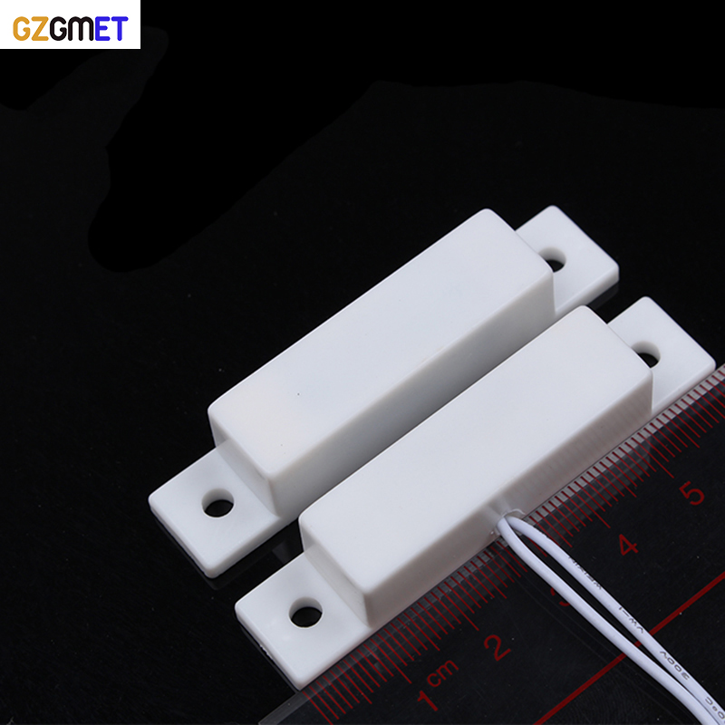 GZGMET Wired Window / Door / Cabinet / Drawer Sensor For Motion Sensor Alarm Panel With Wire Zone
