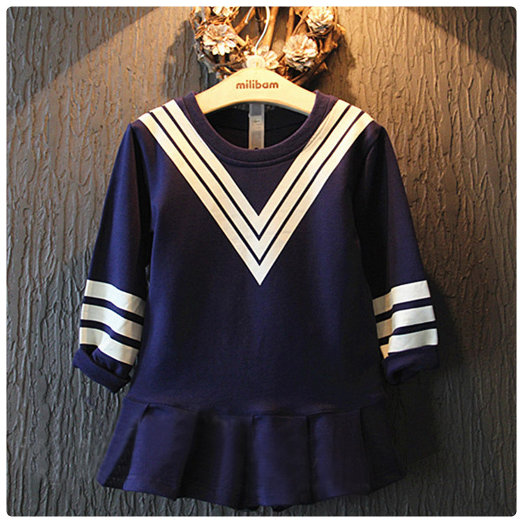 T shirt dress long sleeve uniform
