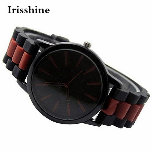 Irisshine i02 Couple Unisex watch Fashion Women Men Silicone Analog Quartz Wrist