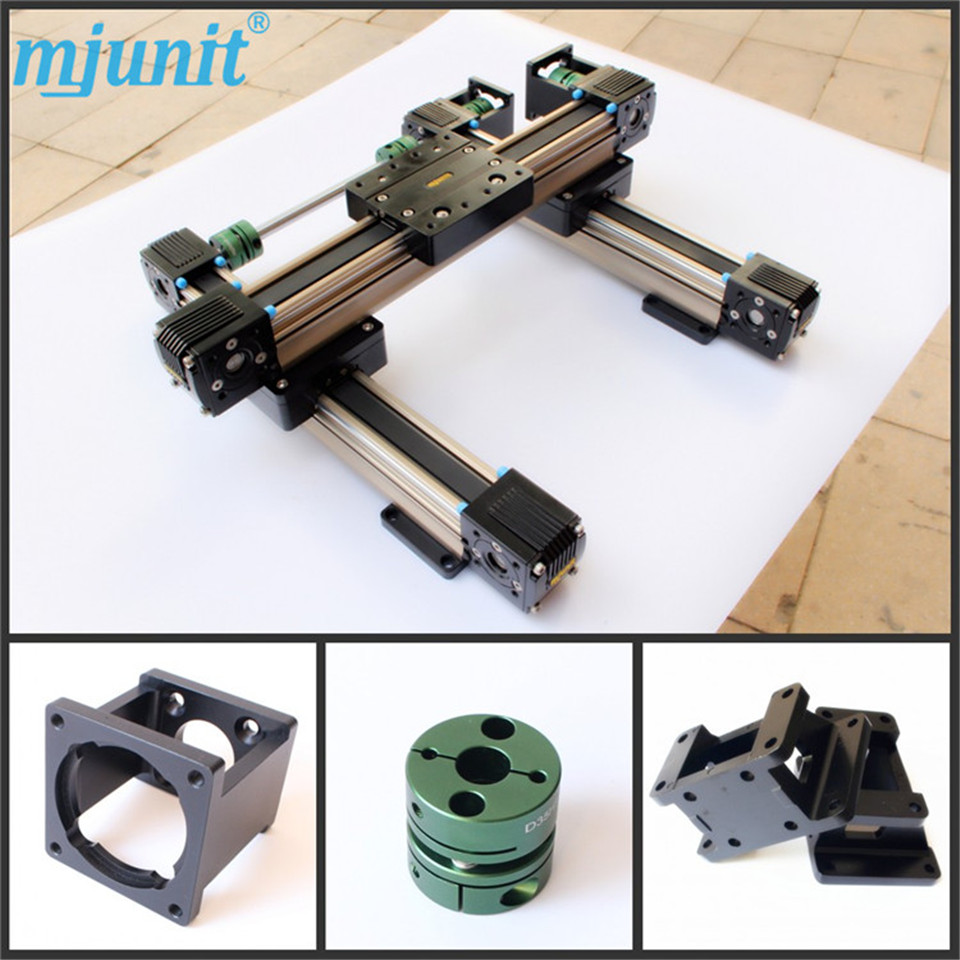 Belt Driven Linear Motorized Actuator Linear actuator Servo Motion CNC belt driven linear slide rail belt drive guideway professional manufacturer of actuator system axis positioning