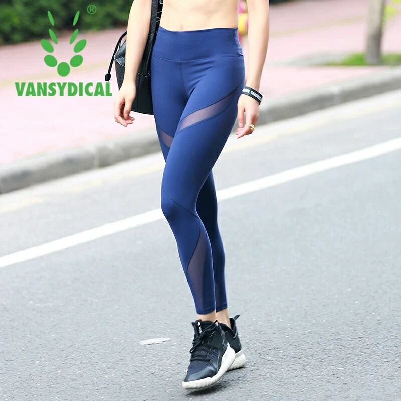 Women Sport Running Pants Gym Tights Pants for Fitness Female Clothes Quick Drying Trousers Elastic
