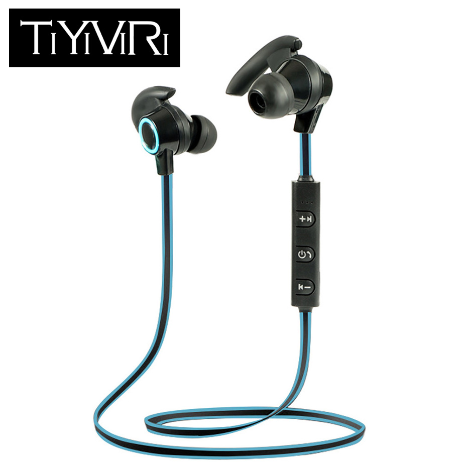 6a2254d7838 Wireless Bluetooth Earphones Sports In-ear Earbud Stereo Hands-free CVC Noise  Cancellation Headphone with Mic for Phone AMW-810
