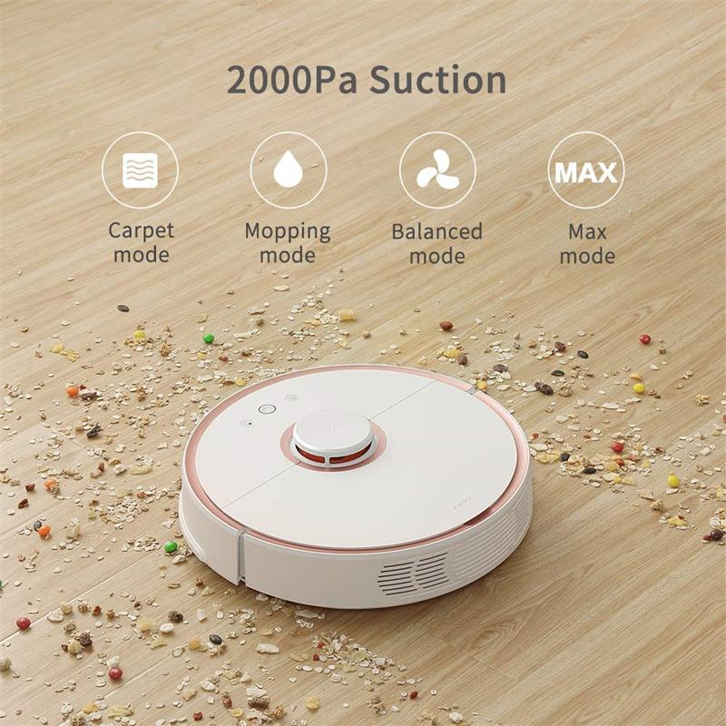 Original Roborock S50 55 MI Robot Vacuum Cleaner with Automatic Sweeping and Dust Sterilize for Home 1