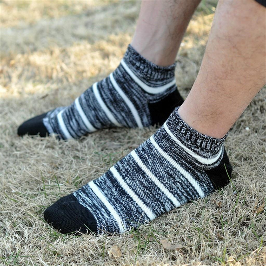 Men's Socks High Quality Striped Elastic 100% Pure Cotton Socks Comfort Soft Vintage Man Casual Men's Socks 7/11