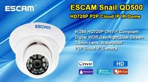 Image 5 - Esicam Snail QD500 Mni IP Camera Night Vision Waterproof outdoor HD 720P IR Cut Onvif P2P CCTV Security Camera Mobile Detection