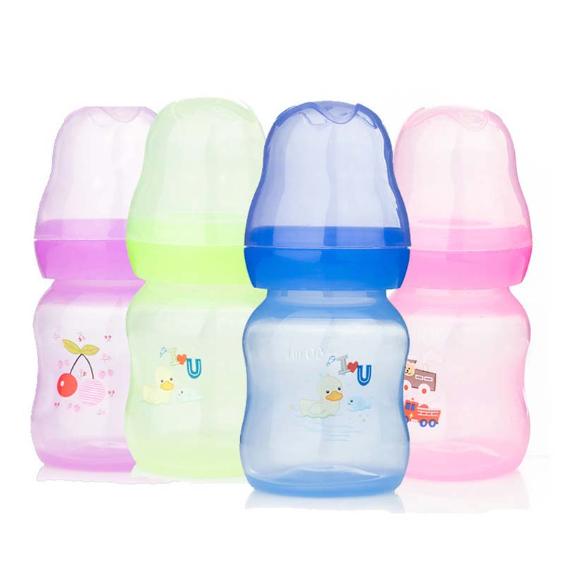 1Pc Baby infant 60ml nursing milk fruit juice water feeding pacifier bottles