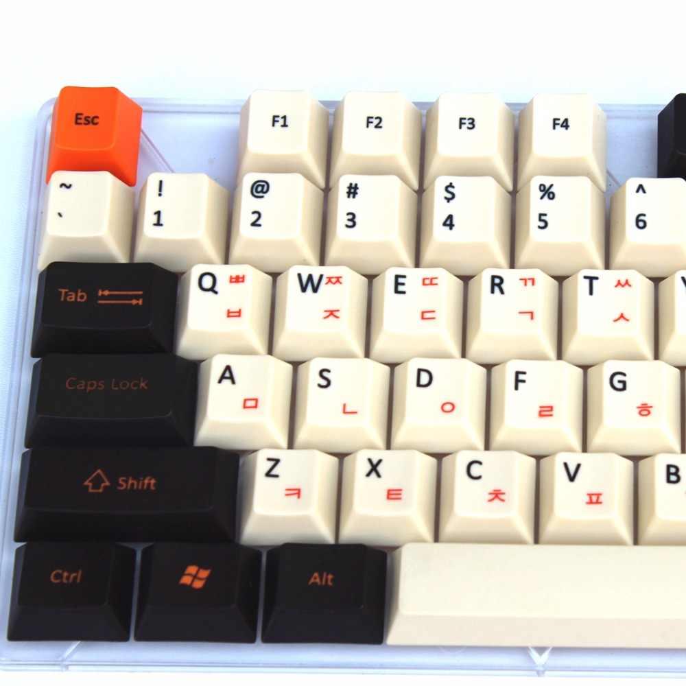 クールジャズ108/125 pbt厚いcherry mx染料-昇華した日本ロシア韓国レイアウトチェリーmxスイッチ用メカニカルゲーミングキーボード