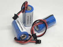 MasterFire 3pcs/lot New CR17335SE-R 1800mah Q6BAT 3V PLC with plug lithium Batteries CR17335SE CE17335 Li-ion Battery