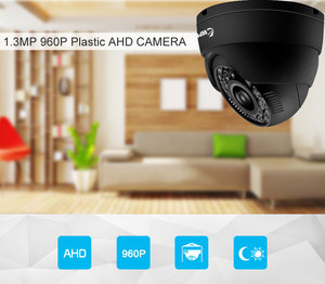 Image 5 - Keeepr caméra de Surveillance dôme intérieure AHD 1.3mp HD 960P, dispositif de sécurité HD AHD
