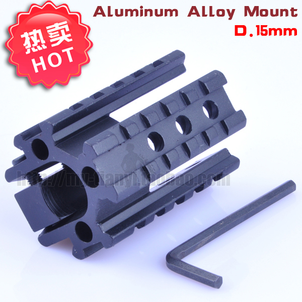 1PC Hunting Rifle Scope Tri-Rail On Barrel Of 20mm extend scope bases Picatinny Weaver Rail Mount Base