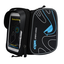 Bicycle Mountain Bike Bag Top Tube Package Saddle Bag Package Cycling Equipment Outdoor Sport Mountain Bike Bag