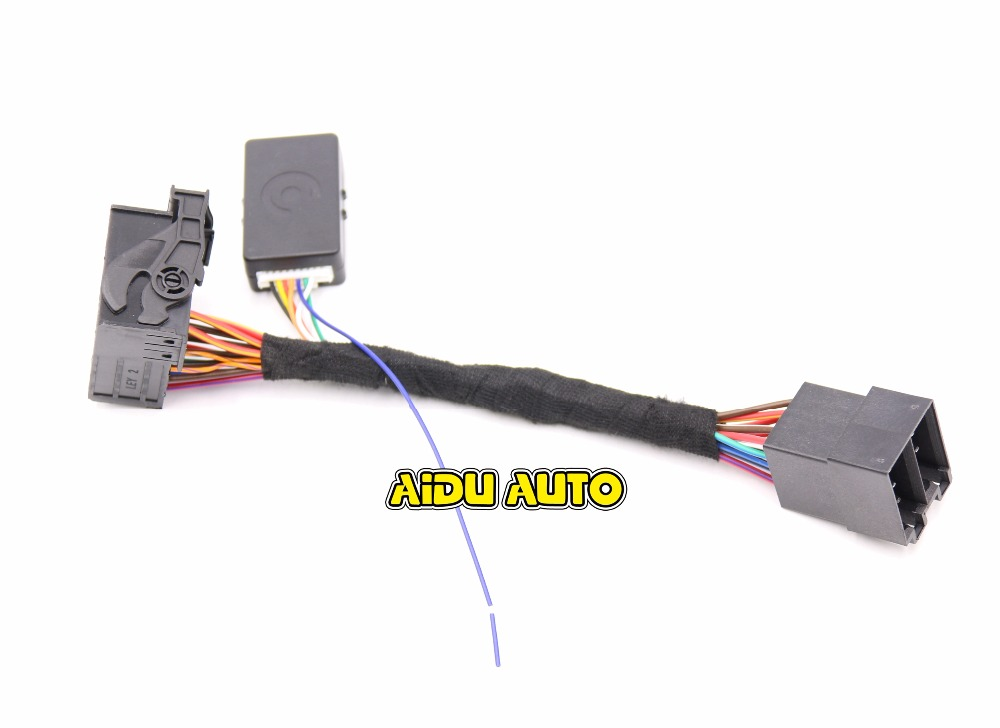 can bus connectors wiring diagram rcd330 plus plug play iso quadlock adapter cable w canbus decoder  rcd330 plus plug play iso quadlock