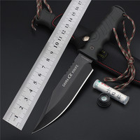 2017 New Free Shipping Tactical Knife Rushed Outdoor Saber Tactical Fixed Camping Survival Edc Tools Cold