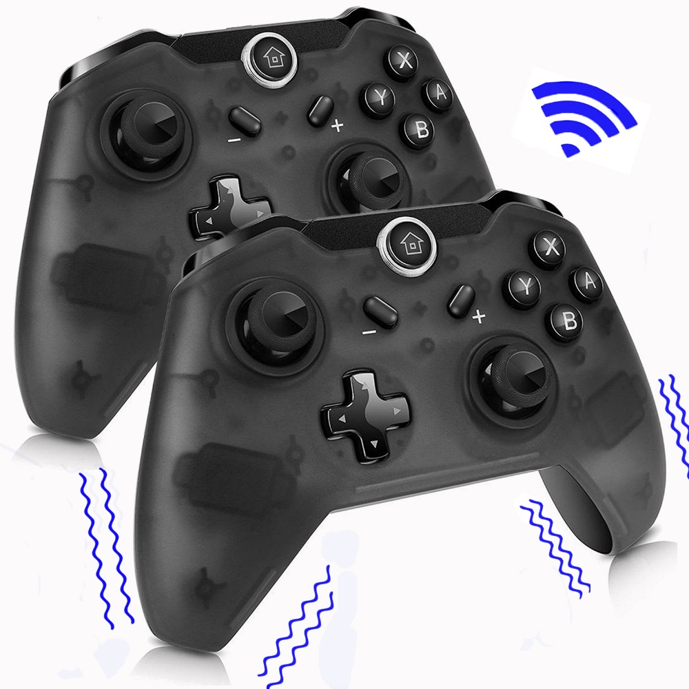 1/2 Pcs Wireless Bluetooth Controller For Nintend For Switch Pro Game Gamepad Joystick For Switch Pro Console Joypad For PC Win