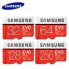 Original SAMSUNG Micro SD card 32GB 64GB Class 10 Memory Card EVO+ EVO Plus microSD 128GB 256GB TF Card SDXC cartao de memoria