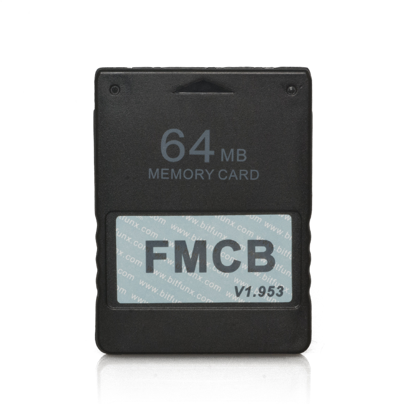 Image 2 - Free McBoot FMCB 1.953 for Sony Playstation2 PS2 8MB/16MB/32MB/64MB Memory Card Cards OPL MC Boot-in Replacement Parts & Accessories from Consumer Electronics