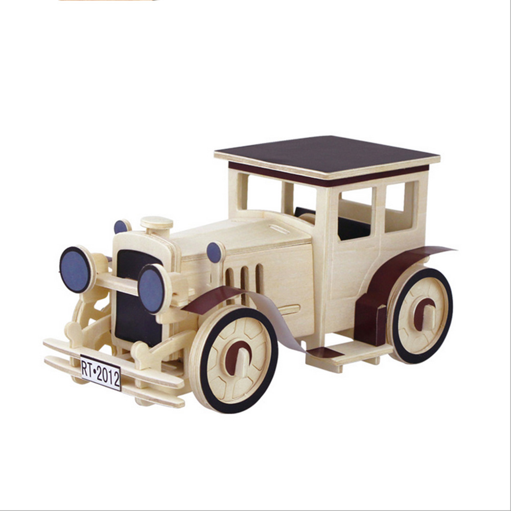 Classic Educational Toys : Wooden toys wood educational for children classic car