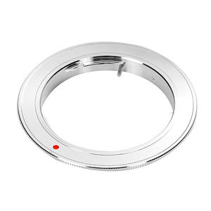 Image 1 - Silver Adapter Ring for Olympus OM Mount Lens to Canon EOS 7D 6D 5D 2 3 760D 750D 700D 650D 1200D Camera