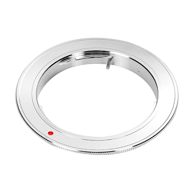 Silver Adapter Ring for Olympus OM Mount Lens to Canon EOS 7D 6D 5D 2 3 760D 750D 700D 650D 1200D Camera