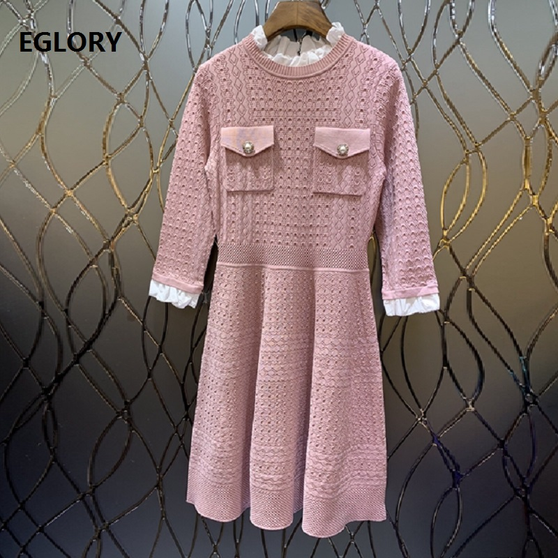 43cfb864a48 Perles 4 Robe Black Rose D été pink 2019 Pour Femmes Sweat Qualité Pull red  3 ...