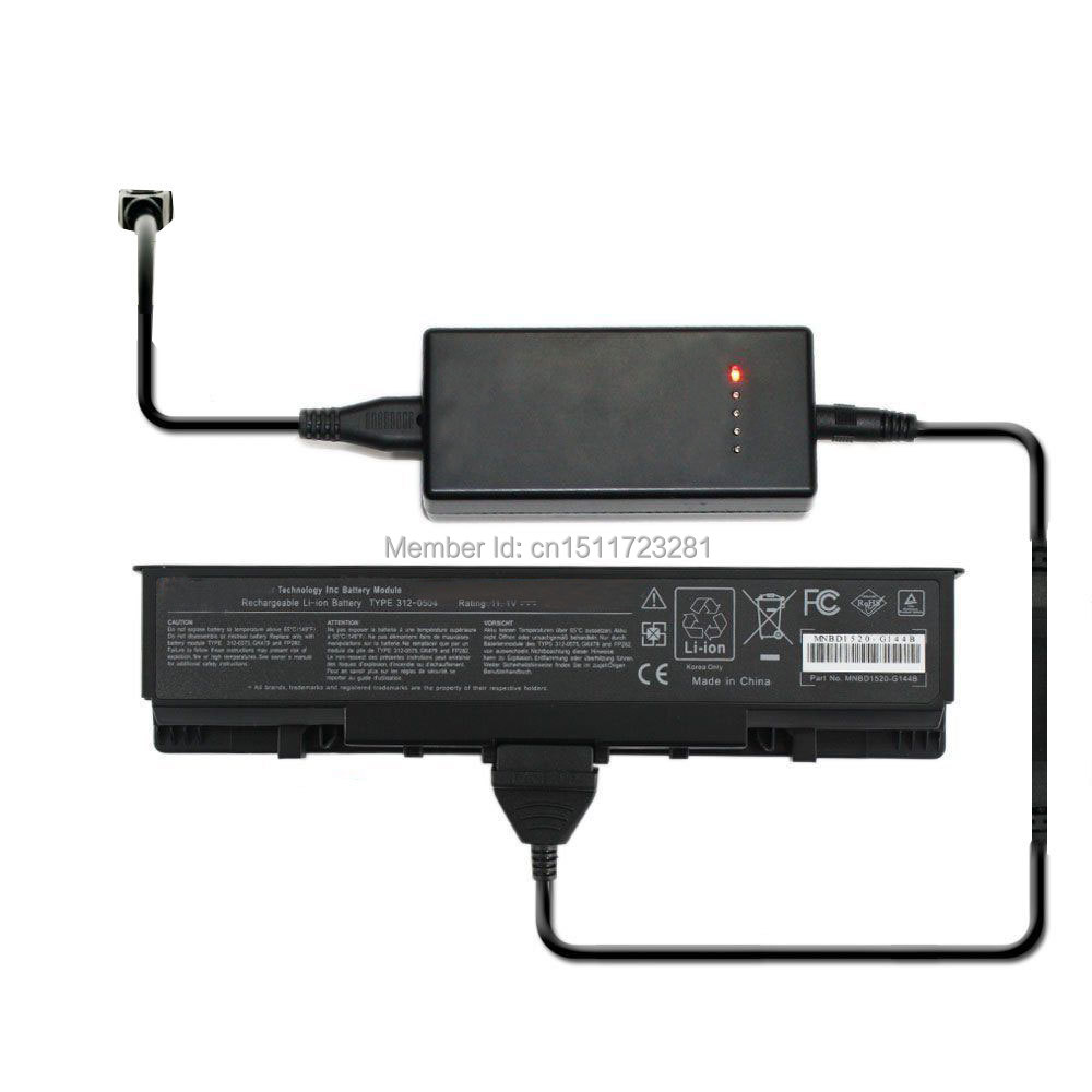 Laptop Adapter External Laptop Battery Charger For Toshiba Pa3431u-1bas 1brs Satellite M60 M65 Series Luxuriant In Design
