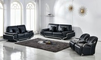 high quality luxury group leather sofa