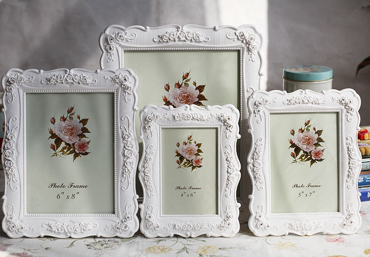 Photo Frame Resin Crafts Different Size Europe Style Picture Frame