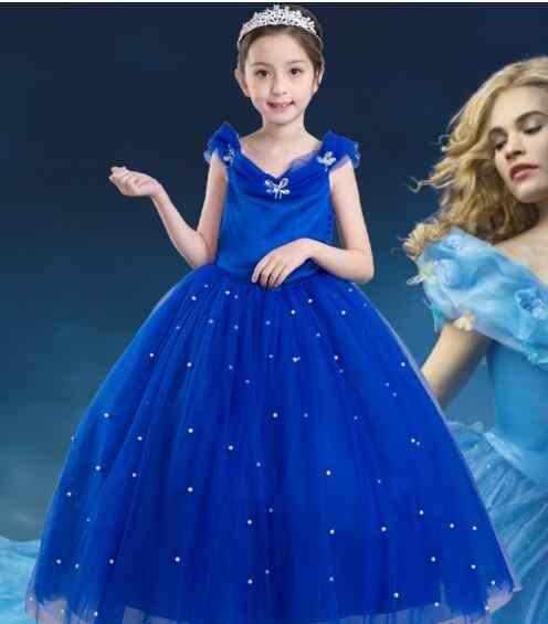Cinderella Christmas.Children Fancy Rapunzel Sofia Snow White Dress Cinderella Christmas Carnival Costume For Kids Princess Party Dress Girl Clothing