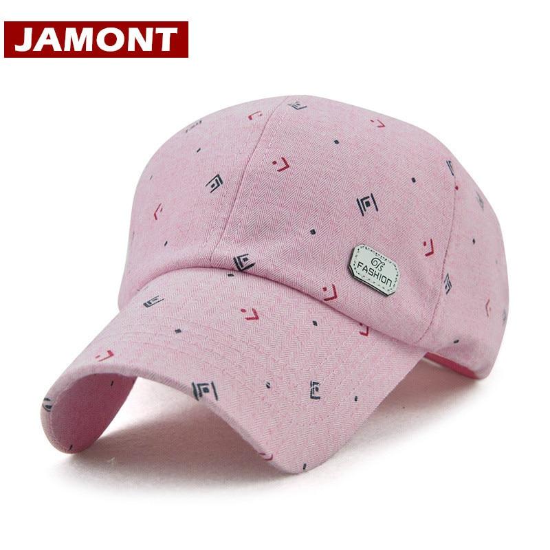 [Jamont] 2018 الربيع قبعة بيسبول للنساء - ملابس واكسسوارات