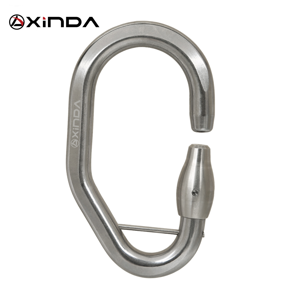 Xinda stainless steel Via Ferrata tree  through the Jungle Adventure Park special uninterrupted protection Ironroad lock buckle walking through the jungle