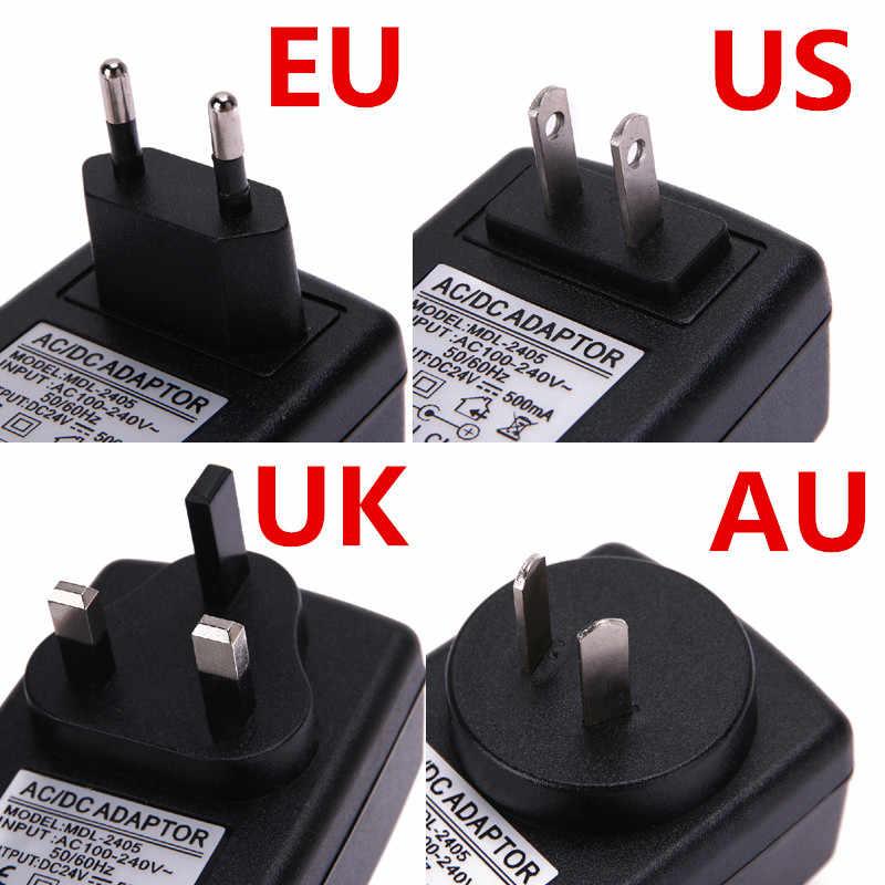 Adaptador de CA a CC con conmutación de 16V 2A, convertidor de adaptador de fuente de alimentación DC 16V 2A y 2000mA EU US UK AU Plug DC 5,5mm x 2,1-2,5mm