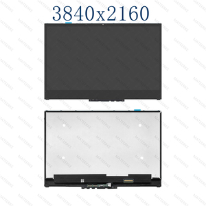 "Image 3 - 15.6 ""LCD LED תצוגת מסך מגע Digitizer + הלוח הקדמי עבור Lenovo יוגה 730 15IKB 81CU יוגה 730 15IWL 81JS NV156QUM N51 N156HCE EN1"