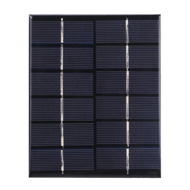 Alloyseed Universal 6V 2W Solar Panel Polycrystalline Silicone Battery Sun Power Module DIY Power Supply Board for Lighting