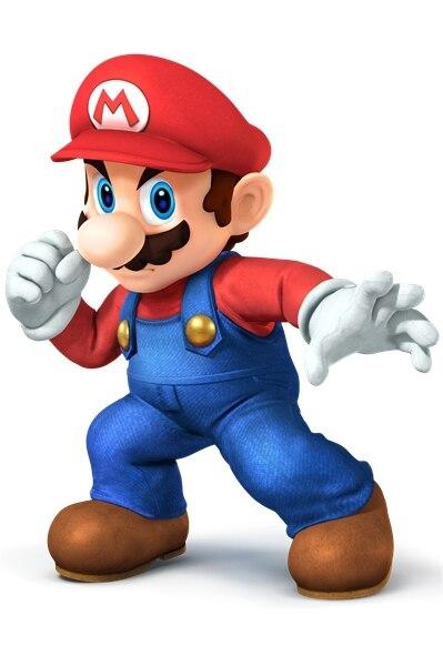 Custom Canvas Art Cartel de Super Mario Super Mario Pegatinas de Pared Wallpaper