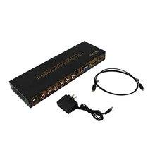 Wiistar HDMI Цифровой Аудио Декодер HDMI к HDMI/VGA/SPDIF/5.1 Surround Sound Converter Адаптер Бесплатная Доставка