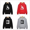 2016 Winter Men's Fleece Hoodies Eminem Printed Rap Suits Sweatshirt Men Sportswear Sudaderas Hombre Hip Hop Clothing