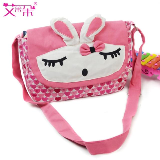 Dream rabbit messenger bag in primary school students school bag women's handbag shoulder bag bags