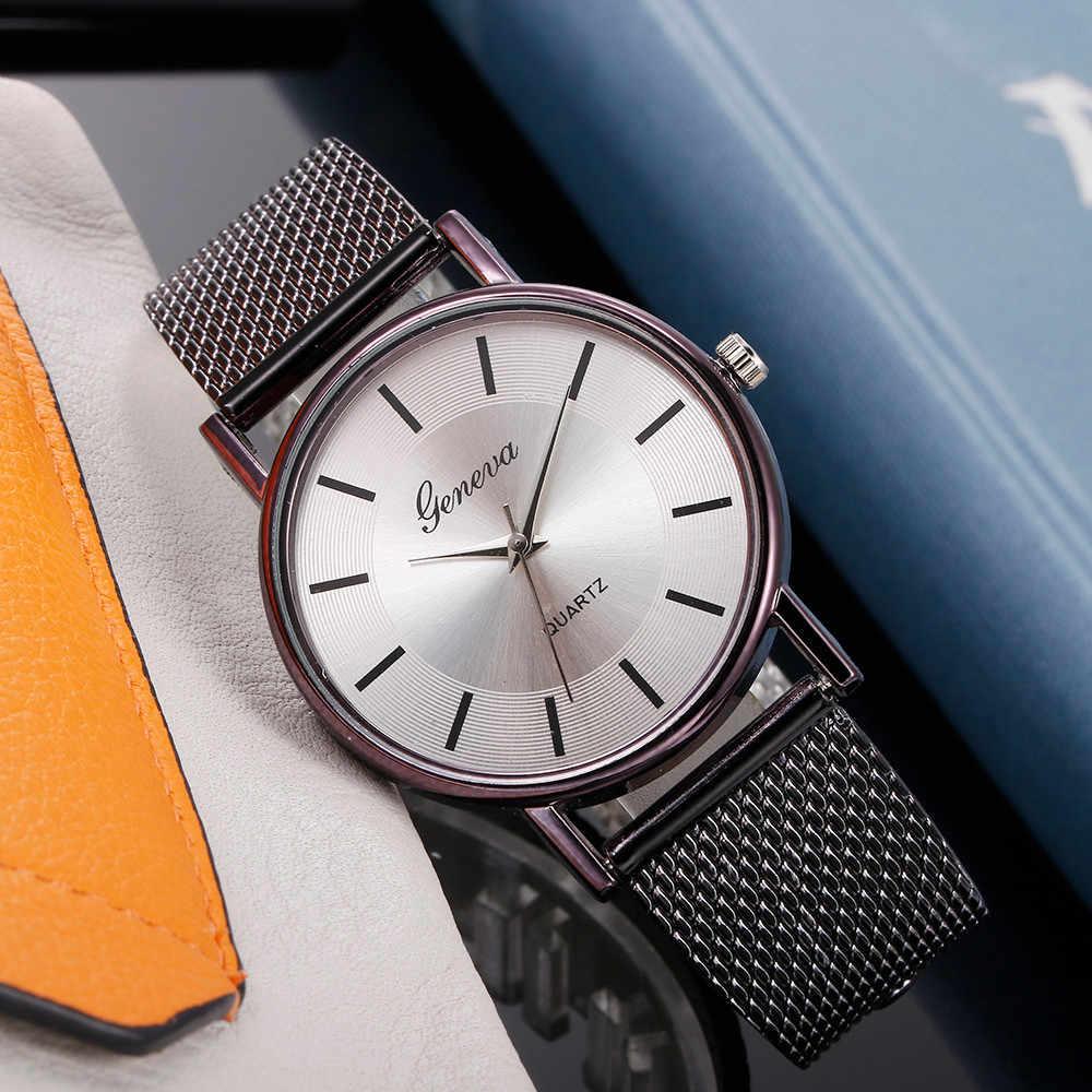 Mulheres rosa ouro moda aço inoxidável malha relógio senhora relógio de pulso à prova dwaterproof água movimento quartzo japonês montres femme