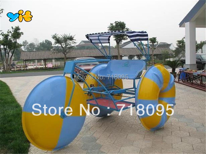 3222m Aquatic Tricycle For 2 Person Aqua Bike In Water Play