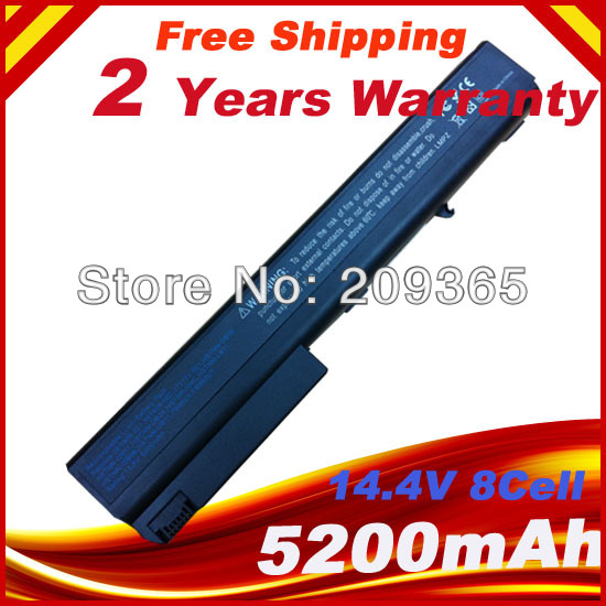 8 Cell Battery For HP COMPAQ 398876-001 HSTNN-DB06 HSTNN-DB11 HSTNN-DB29 HSTNN-I04C HSTNN-LB11 NX7300 NX7400 NW8240 8510p NX8220